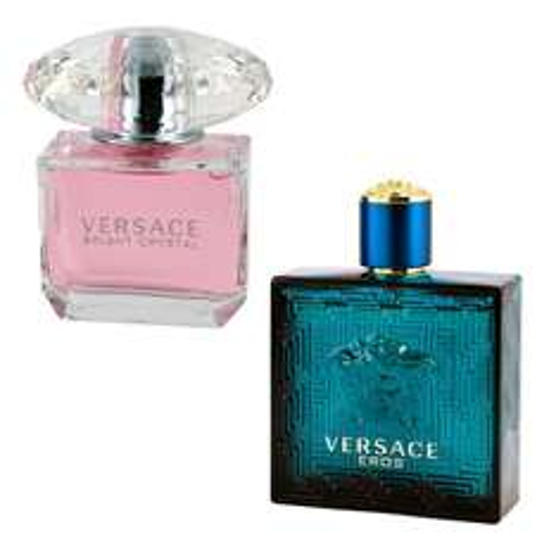 Costco: loción Eros By Versace (hombre) y Bright and Crystal (dama) $1,299 con cupón