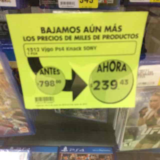 Comercial Mexicana: Plantas vs Zombies Garden Warfare PS4 a $240 y Call of Duty 4 para PS3 a $90