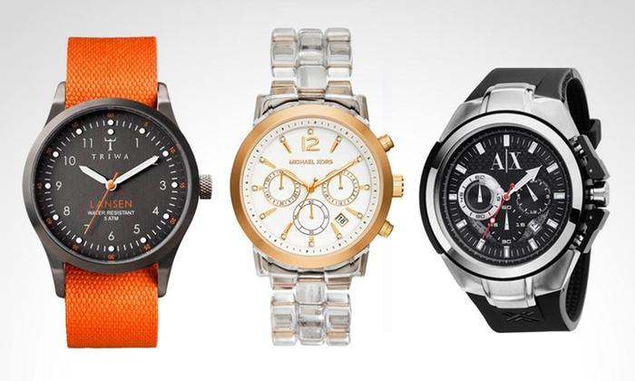 Groupon: oferta en relojes Relojes Puma, Armani, DKNY, Náutica, Hugo Boss, etc.