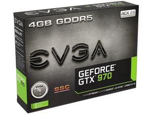 PCEL: Tarjeta de Video EVGA Geforce GTX 970