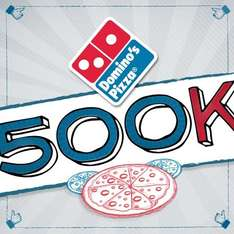 Domino's: 2 pizzas medianas a $129 por internet