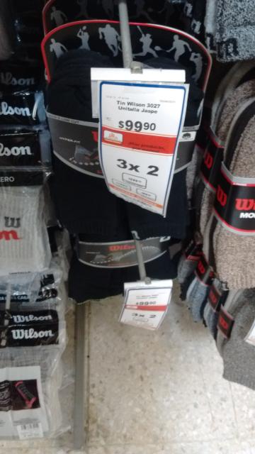 Chedraui Puebla: paquete de 3 tines premium Wilson al 3 x 2 (18 piezas por $200)