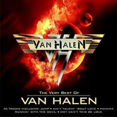 "Album ""The very best of Van Halen"" 36 rolas por $65"