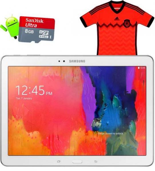 Walmart: Galaxy Tab Pro 10.1, jersey de la selección y tarjeta de memoria $5,751
