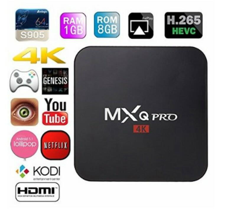 Amazon México:TV Box MXQ Pro $1,000