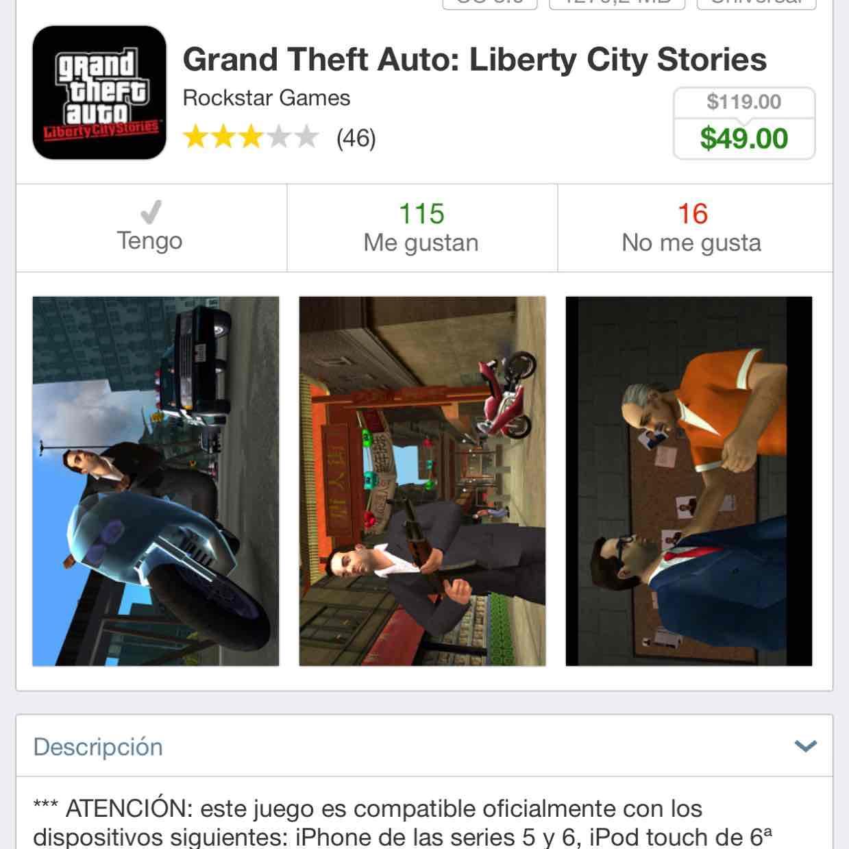 App Store: Grand Theft Auto iOS