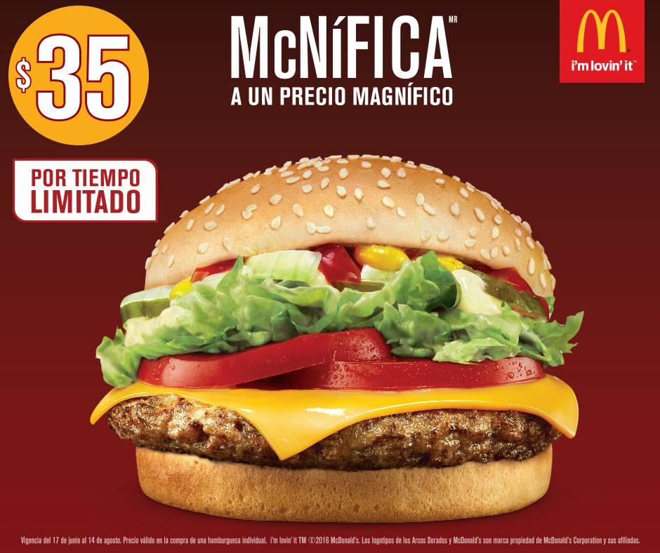 McDonald's: McNifica a $35
