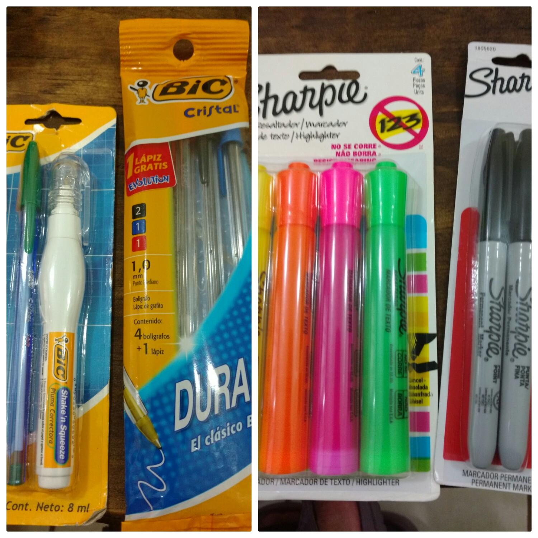 Chedraui Chiapa de Corzo: bolígrafos y marcadores varios