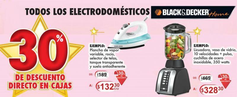 Woolworth: 30% de descuento en electrodomésticos Black & Decker