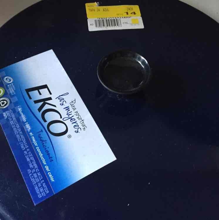 Bodega Aurrerá: Tapa de aluminio Ekco de $54 a solo $1.01