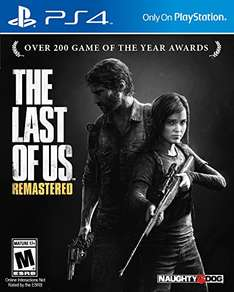 Amazon: The Last of Us Remasterizado Playstation 4
