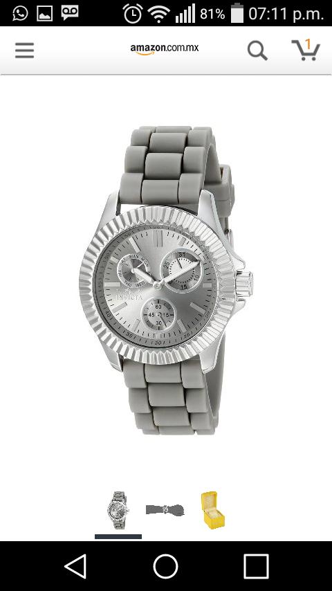 Amazon Mx: Reloj Invicta Dama a $742