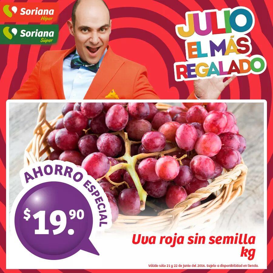 ACTUALIZADO Soriana Hiper: Recompensas del 21 y 22 de Junio manzana red a $12.9/kg y más