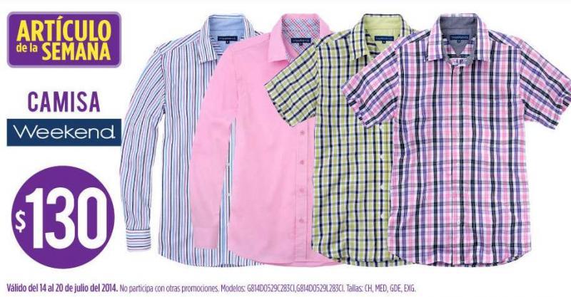 Artículo de la semana Suburbia: camisa a $130
