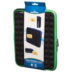 "Amazon: Funda para iPad y Tablet de hasta 10.1"" Manhattan 439596 , negro/ verde"