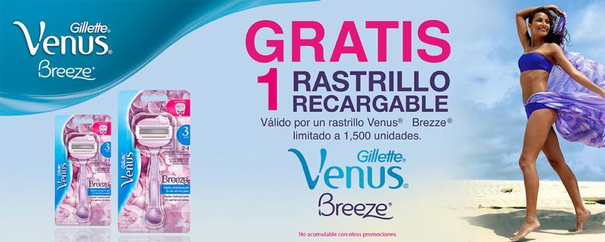 Chedraui: Rastrillo Gillette Venus GRATIS con cupón