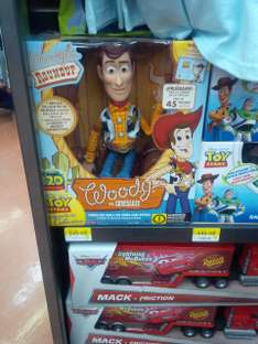 Walmart Toreo: Woody Toy Story a $545.03