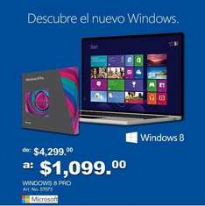 Precio especial de lanzamiento de Windows 8