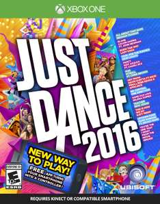 Amazon: Just Dance 2016 - Xbox One a $263, Wii U a $346