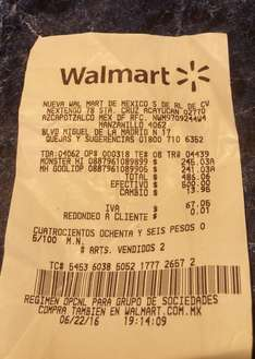 Walmart Manzanillo: Monster High a $245.03