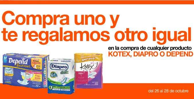 La Comer: 2x1 en Kotex y Depend, -50% en sabanas, TV LED y Blu-ray Samsung 3D $9,998 y +