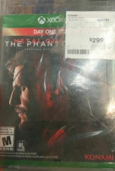 Sam's Club Acoxpa: Metal Gear V a $299, Destiny a $98 y más