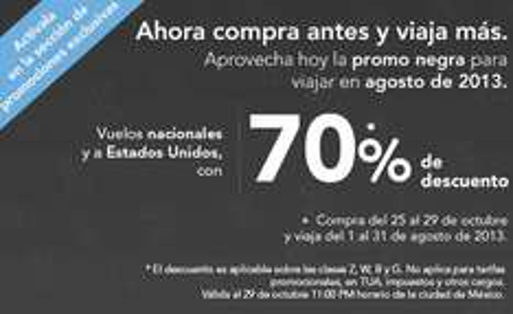 Volaris VClub: 70% de descuento para vuelos en agosto