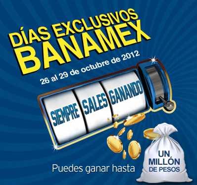 Días exclusivos Banamex octubre 26-29 en Costco, Aeroméxico, Liverpool y más