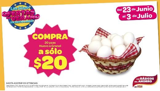 Oxxo (tiendas participantes): Huevo a 1 peso