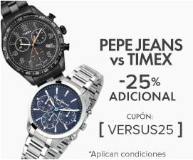 Linio: cupón de 25% en relojes Pepe Jeans y Timex