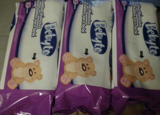 Walmart Poligono: 3 Paquetes de 120 toallitas Bebyto por $36 pesos