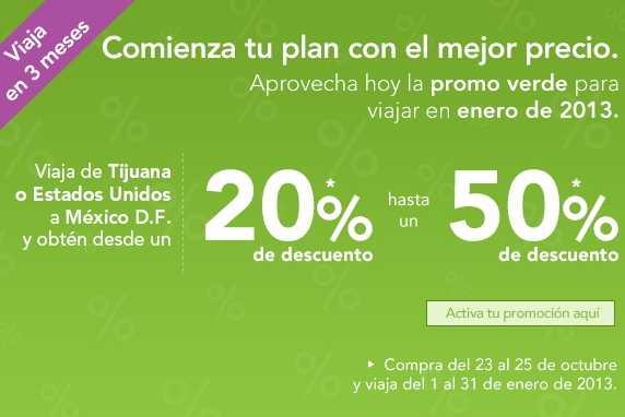 Volaris: hasta 50% de descuento de Tijuana o Estados Unidos al DF