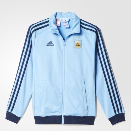 Adidas en línea: Chamarra Argentina Messi para Niño de $1399 a $549 (60% de descuento) y Pants con Sudadera RM de $1699 a $849
