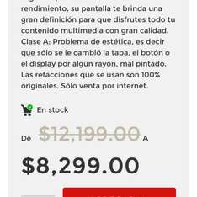 Elektra en línea: Samsung Galaxy Note 5 refurbished clase a