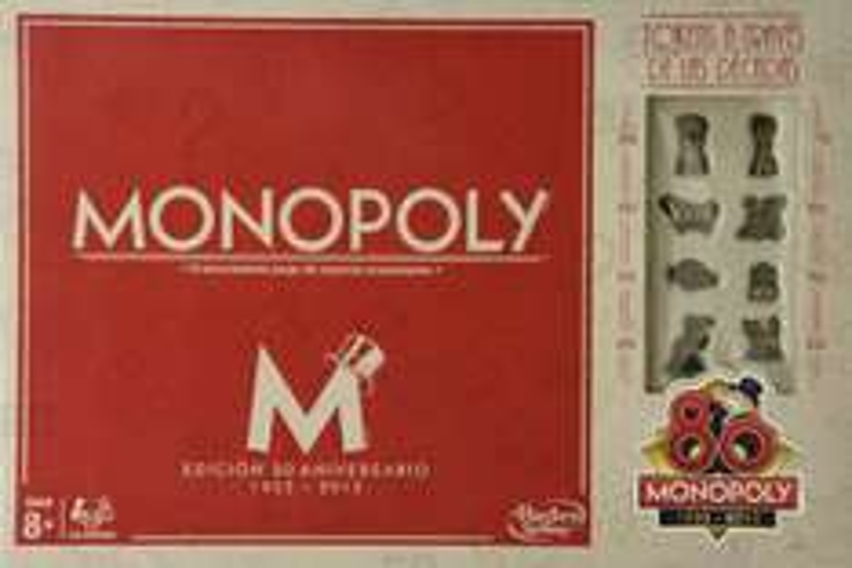 Amazon Mx: Monopoly 80 Aniversario (Versión en español) a $179