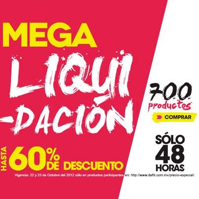 Dafiti: liquidación con hasta 60% de descuento (extendida +20% con PayPal)