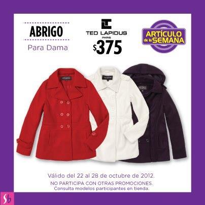 Artículo de la semana en Suburbia: abrigo para dama a $375