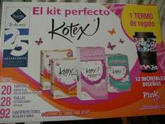 Sam's Club: Kit Kotex + regalo a $138