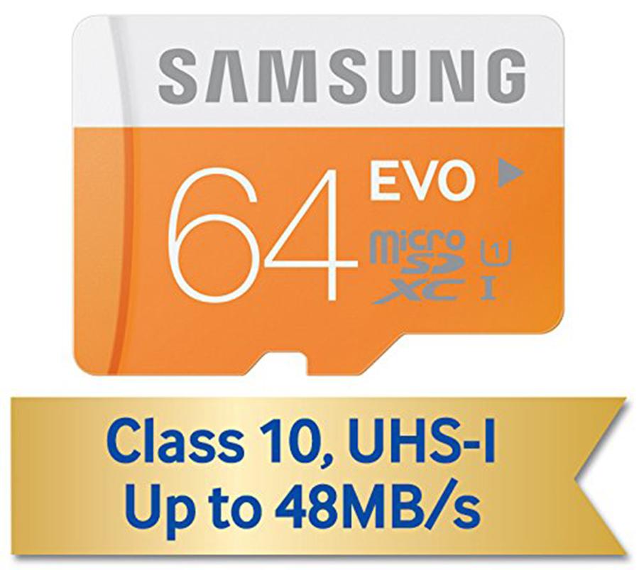 Gearbest: Micro SD 64 GB Samsung a prueba de todo, Clase 10