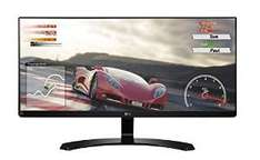 "Amazon: Monitor con pantalla LED ultraancha 34""  LG Electronics 34UM68-P 21:9"