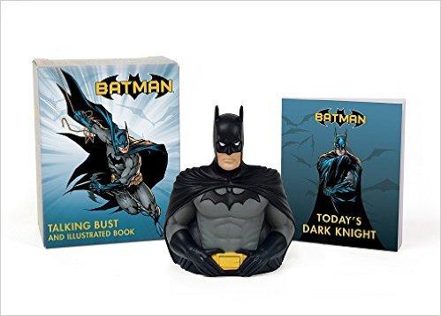 Amazon: Libro ilustrado y figura parlante de Batman (inglés) a $40 pesos