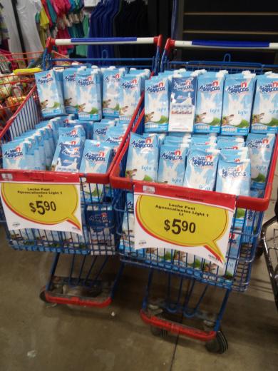 Chedraui Buen Tono CDMX: leche San Marcos Ligth UHT a 5.90