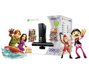 Palacio de Hierro: Xbox 360 250GB + Kinect + 2 juegos a $4,689 o Wii + 2 juegos $2,379