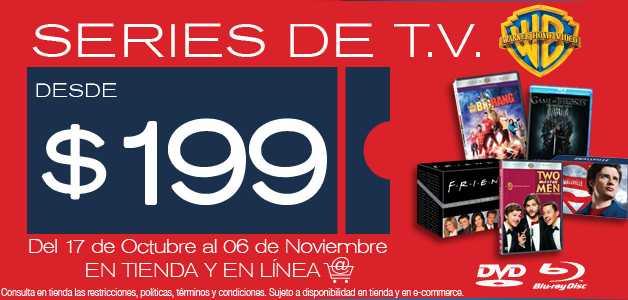 Blockbuster: series de TV desde $199