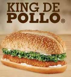Burger King: 2x1 en King de pollo