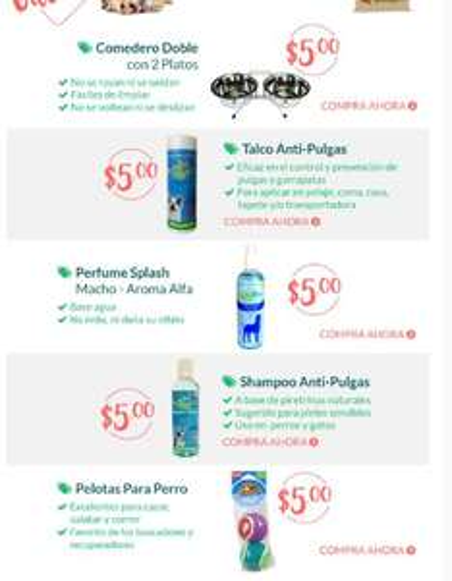 Petsy: Productos Petsy a $5