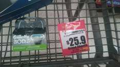 Walmart: Gillette Body 4 cartuchos a $25.90
