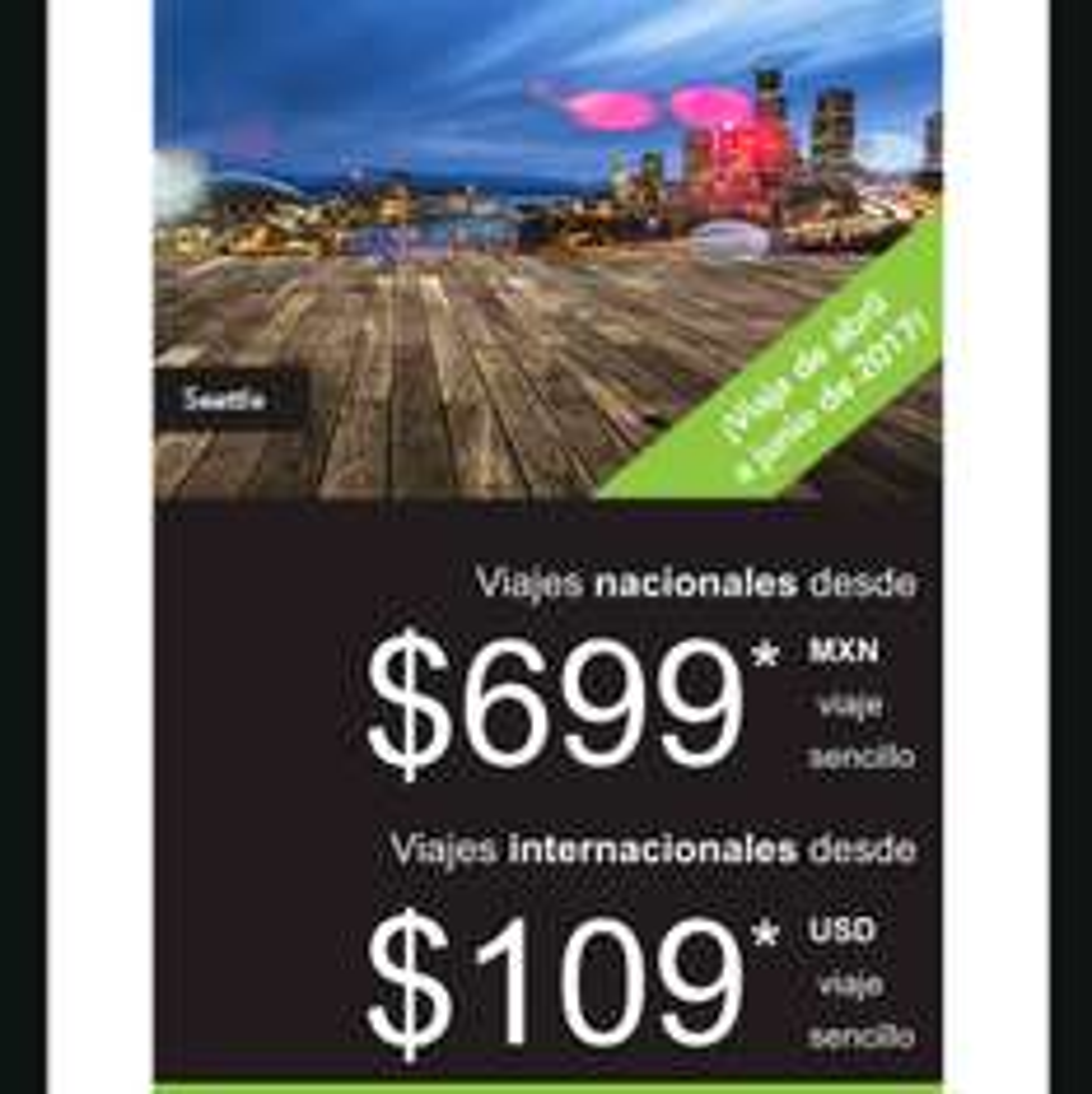 Volaris: vuelos sencillos desde $700 con v Club Volaris