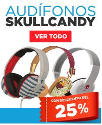 HEB Audífonos Skullcandy con un 25% de descuento