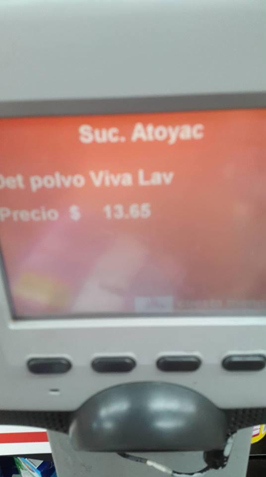 Chedraui: detergente en polvo Viva de 850g. fresca lavanda a $13.65